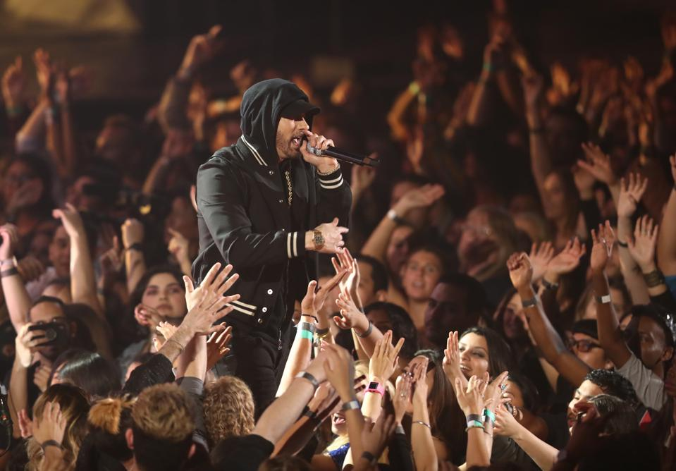 Eminem's 'Kamikaze' Is The Only Solo Album Of 2018 To Sell 500,000 Pure Copies