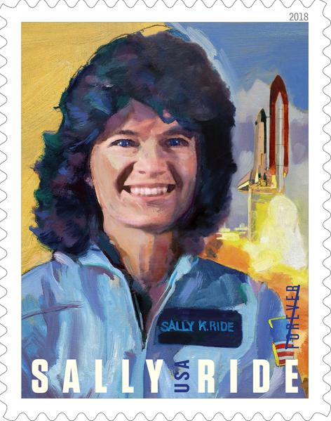 USPS Releases New Stamp Honoring Sally Ride, First American Woman In Space