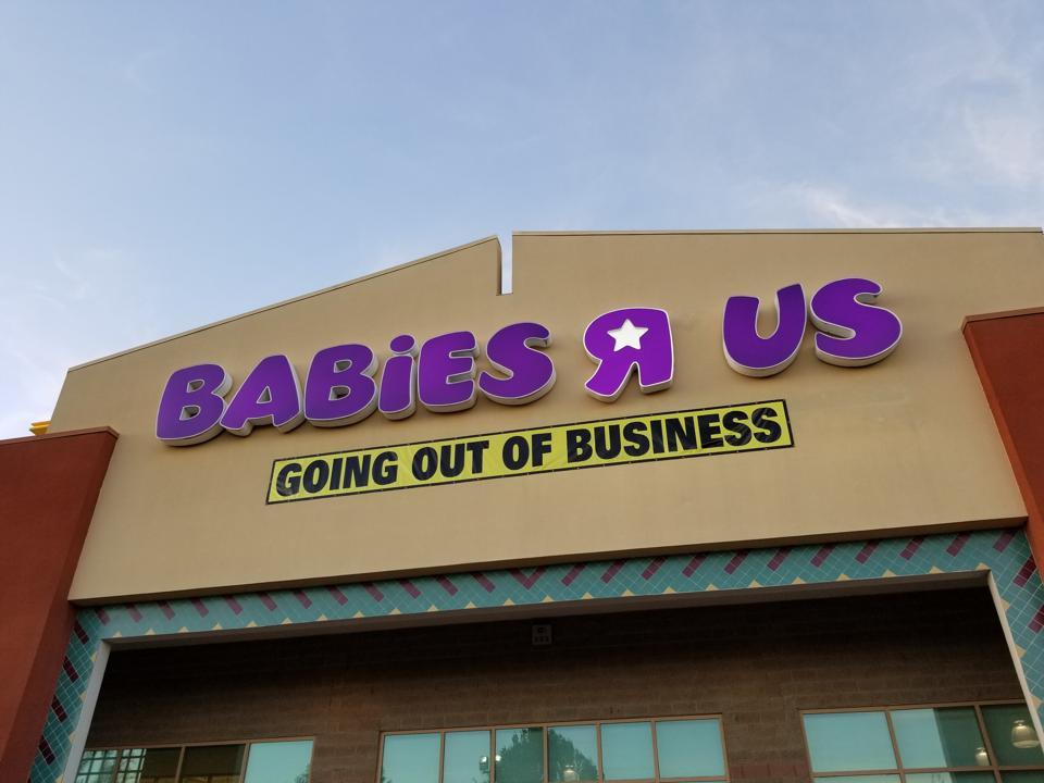 Babies R Us: Failing Store, Rising Grace