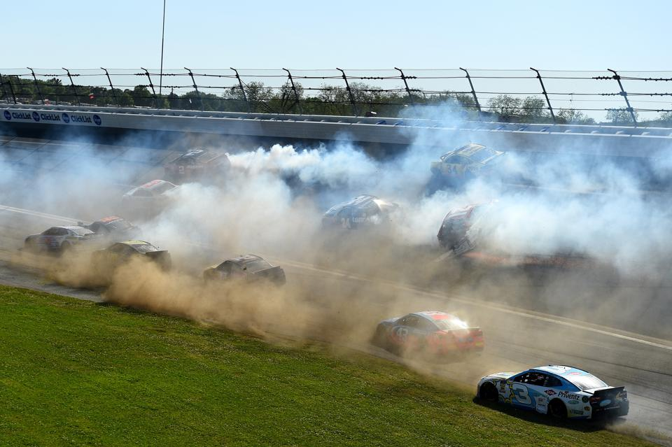 How Those Big Wrecks Could Keep Delivering Fans To NASCAR