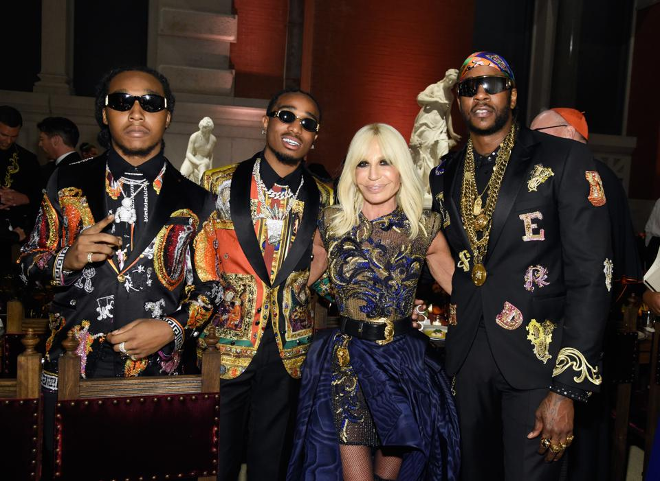 Hip Hop Helps Versace Expand With 300 New Stores