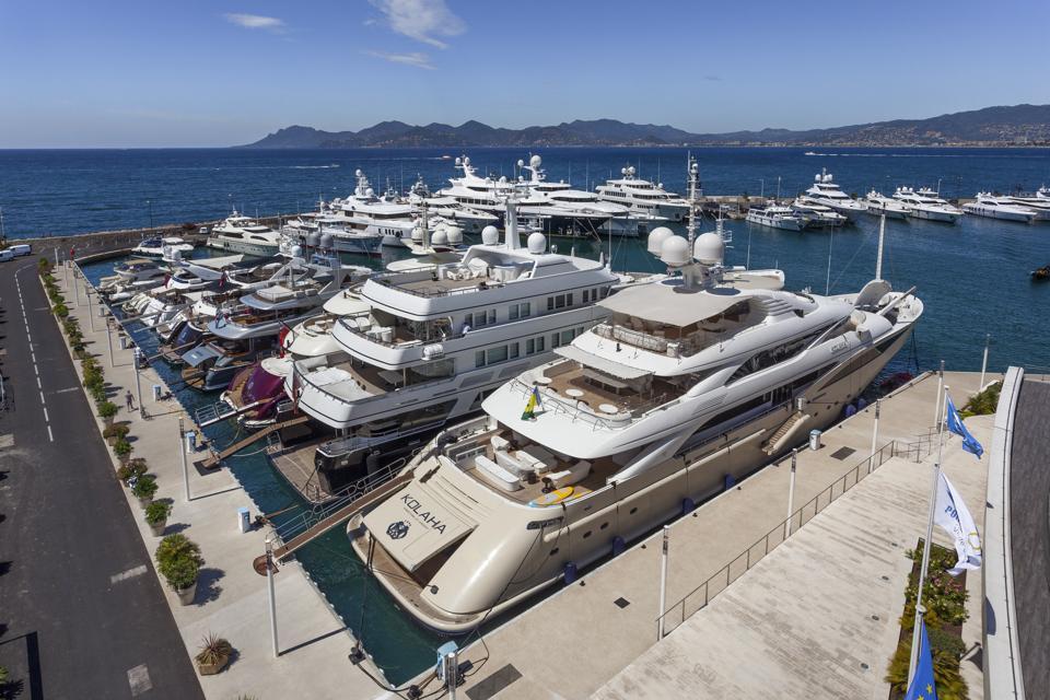 Billionaire Superyacht Showdown: Who's Who At The 2019 Cannes Film Festival