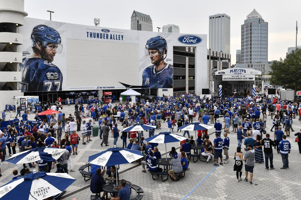 Despite Playoff Sweep, Tampa Bay Lightning Fans Have Plenty To Cheer About Off The Ice