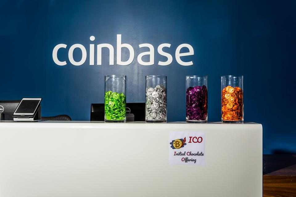 bitcoin exchange coinbase office image