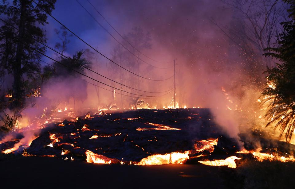 Lava From Kilauea Is Moving Fast Now, Forcing Evacuations And Covering Geothermal Wells