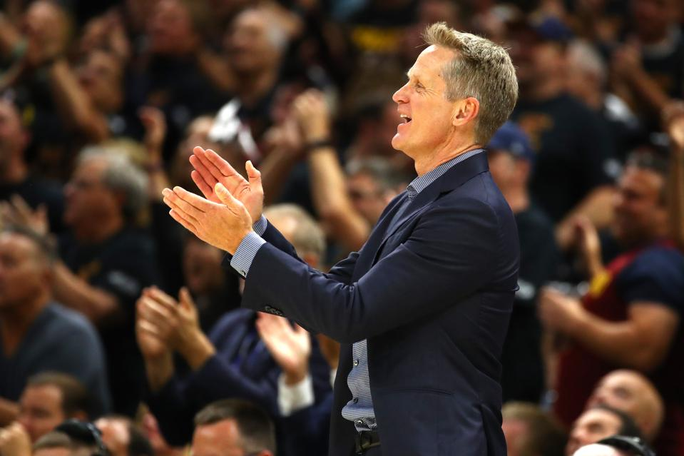 4 Things NBA Champion Steve Kerr Can Teach CEOs About Team Chemistry