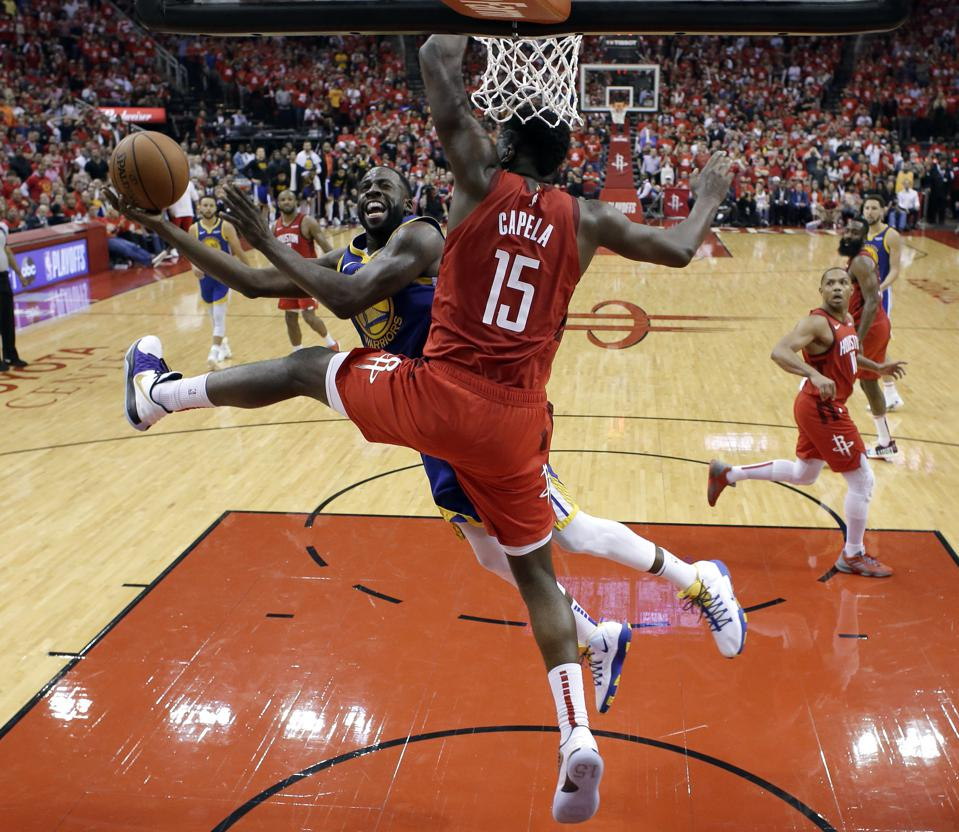 To Beat The Warriors, The Rockets Need To Explore Clint Capela Trades