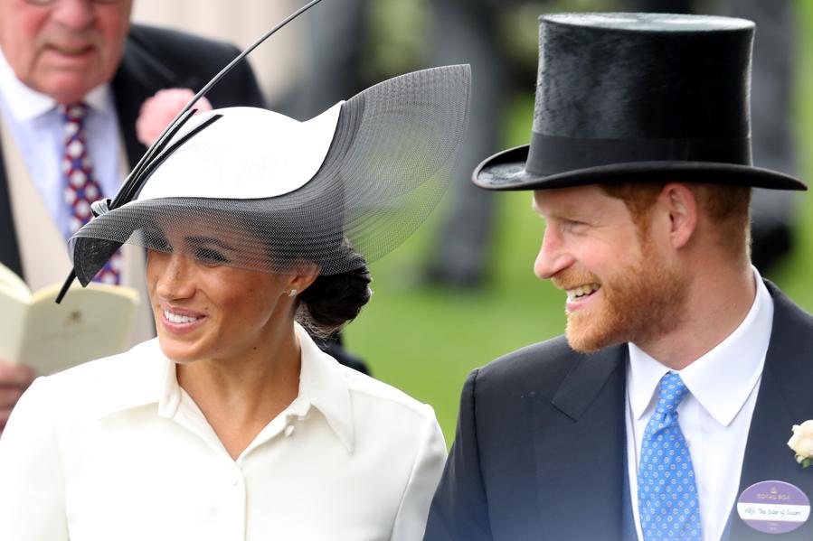Duchess Meghan Markle Debuts At Royal Ascot Amid Wacky Hats, Flamboyant Fashion And Racehorses