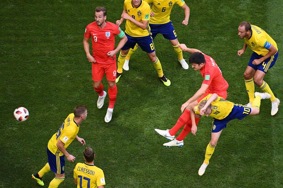 Image result for england goal vs sweden