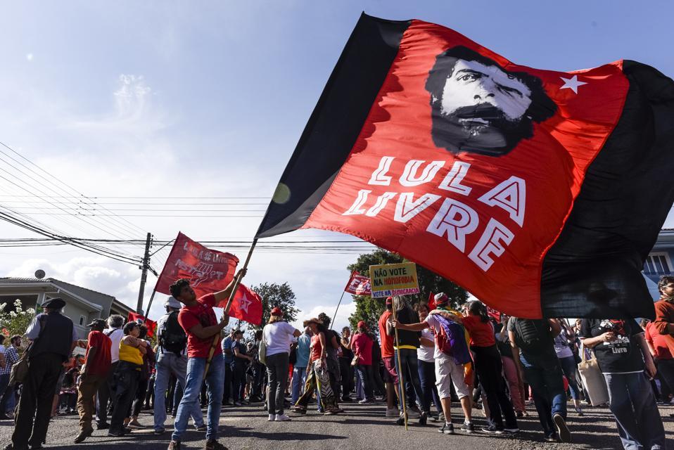 Lula, Brazil's First Jailbird President