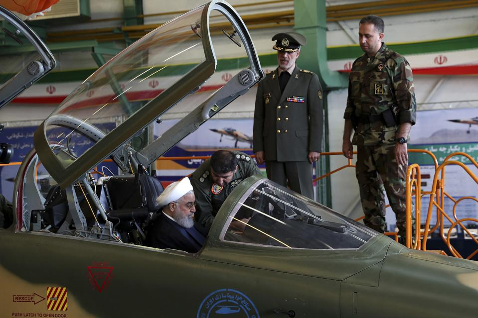 Iran's 'New' Fighter Jet Provokes Derision, As Observers Note Likeness To U.S. Jet From The '60s