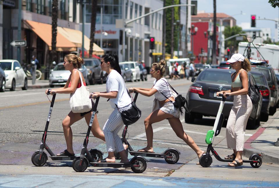 Standing Electric Scooters: Study Shows How You Can Get Injured