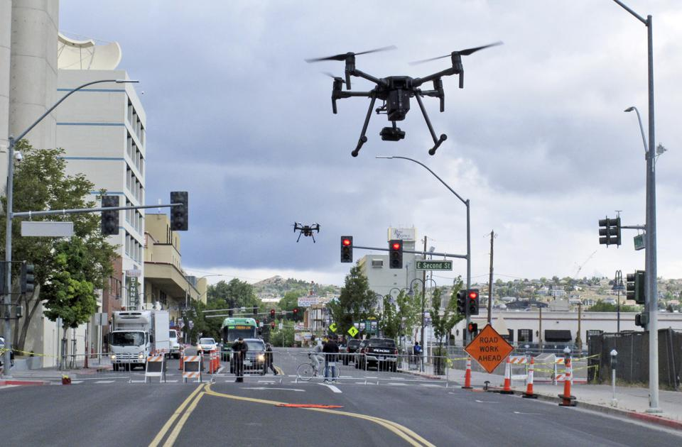 Highways In The Sky: State Transportation Drones Aim To Save Time, Money -- And Lives