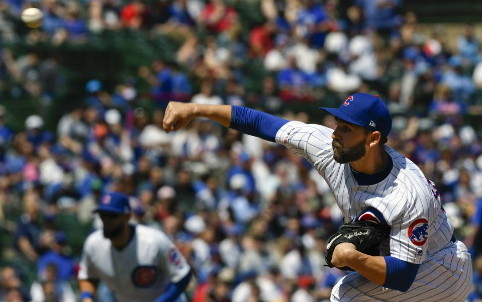 Could Tyler Chatwood Pitch Well Enough For The Cubs To Consider Trading Him This Summer?