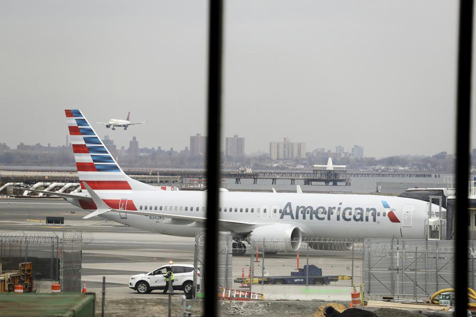 American Airlines Says Slowdown By Mechanics Is Causing Delays And Cancellations