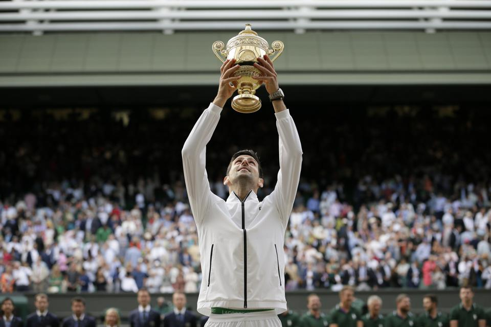 Wimbledon: Novak Djokovic's Championship Win Over Roger Federer By The Numbers