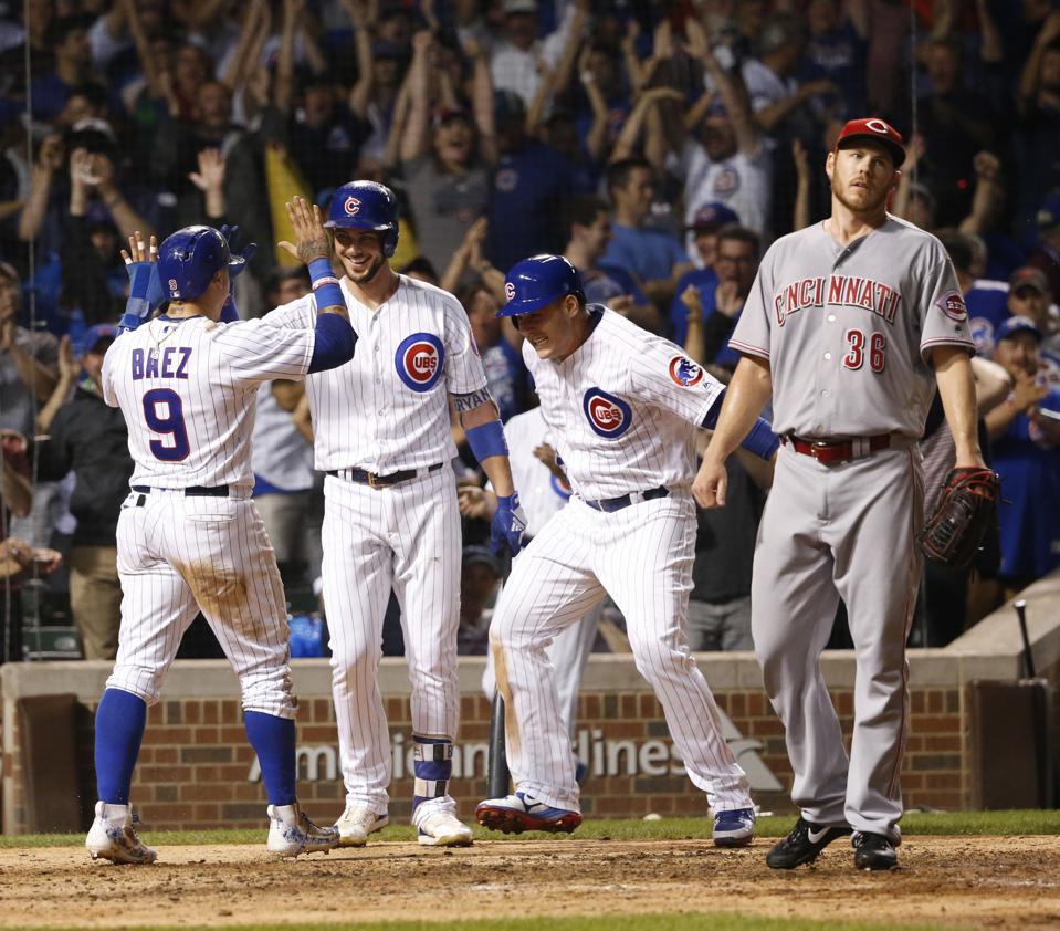 Cubs Have A Fearsome Foursome In Rizzo, Bryant, Baez, And Contreras
