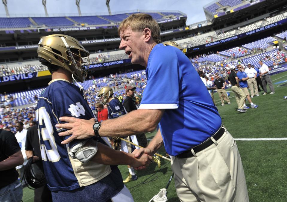 Meet Duke's John Danowski, The Winningest Coach In NCAA Lacrosse History And Son Of A Former NFL QB