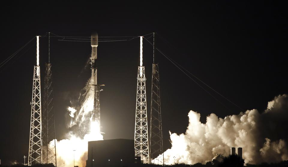 SpaceX Launches First Starlink Satellites In Space Internet Battle