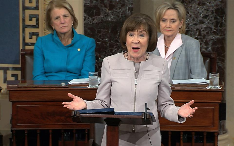 What You Can Learn From Susan Collins' Senate Speech For Justice Kavanaugh