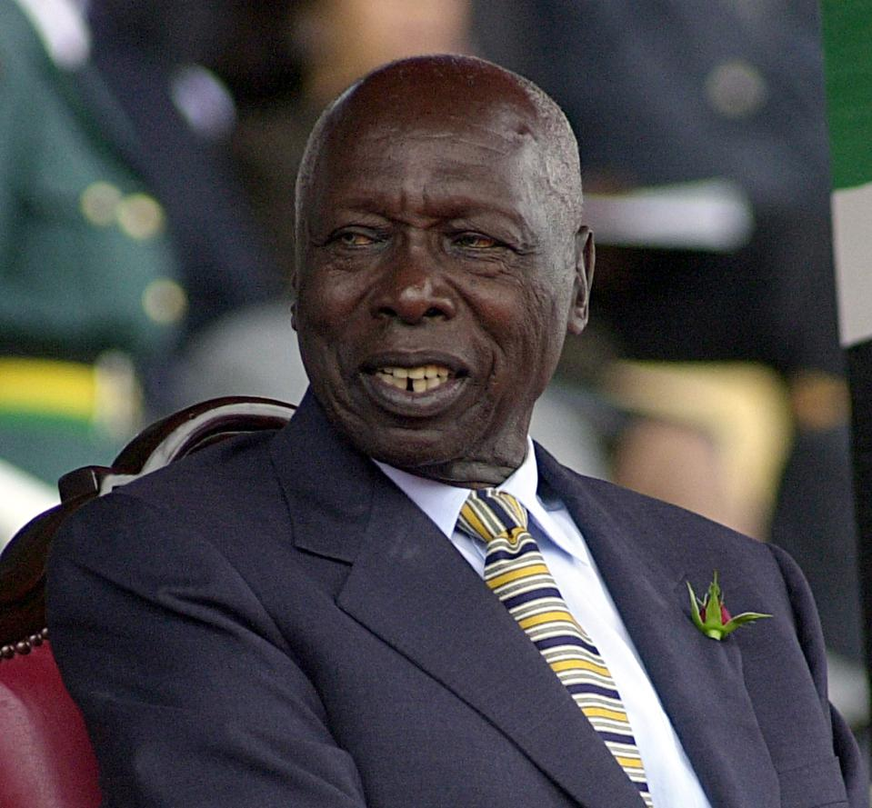 Former Kenyan President Daniel Arap Moi Ordered To Pay $10 Million To Widow Over Land Grab