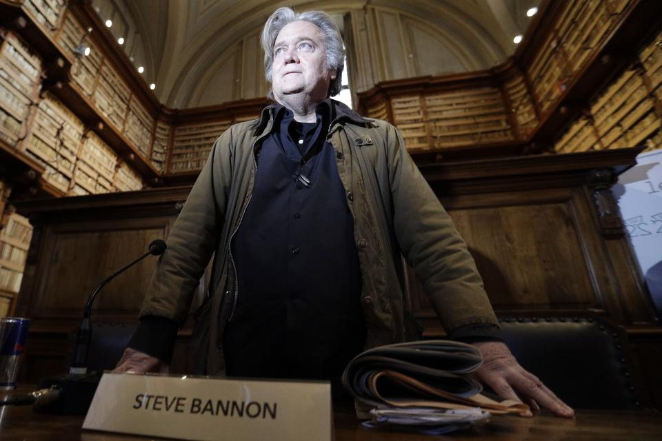 Matteo Salvini Is Key For Bannon's Strategy In The European Elections