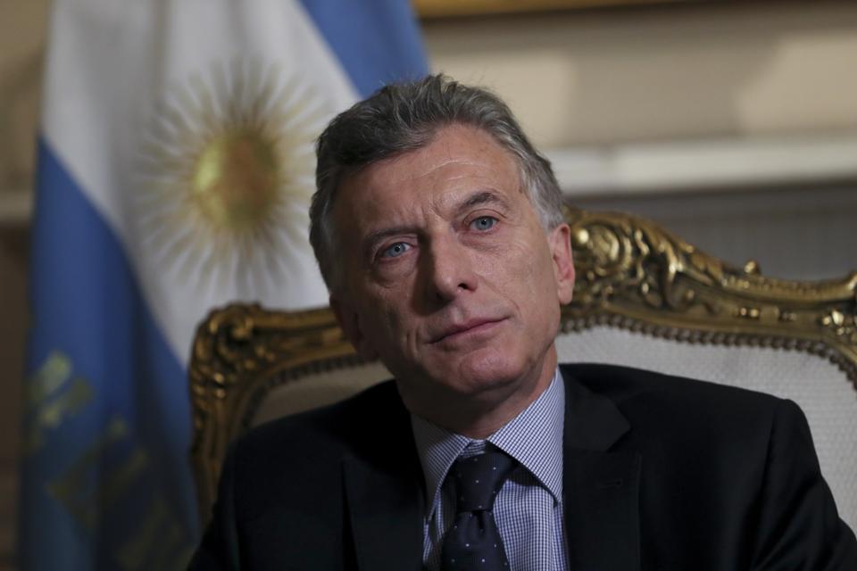 A Weak President Macri Has Investors Dumping Argentina