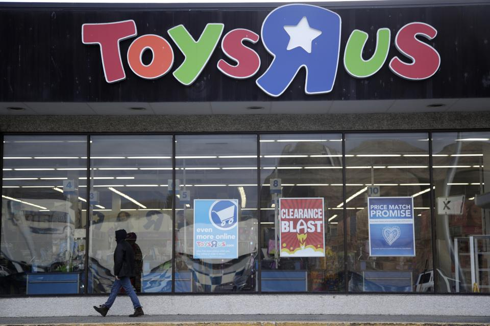 Billionaire toy maker talks about his gofundme campaign to save toys r us