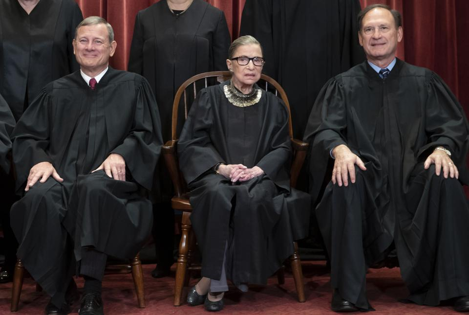 U.S. Supreme Court Justice Ruth Bader Ginsburg And Age Discrimination