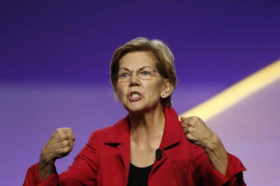 Fintech Seems To Be A Priority For Elizabeth Warren's 2020 Election Campaign