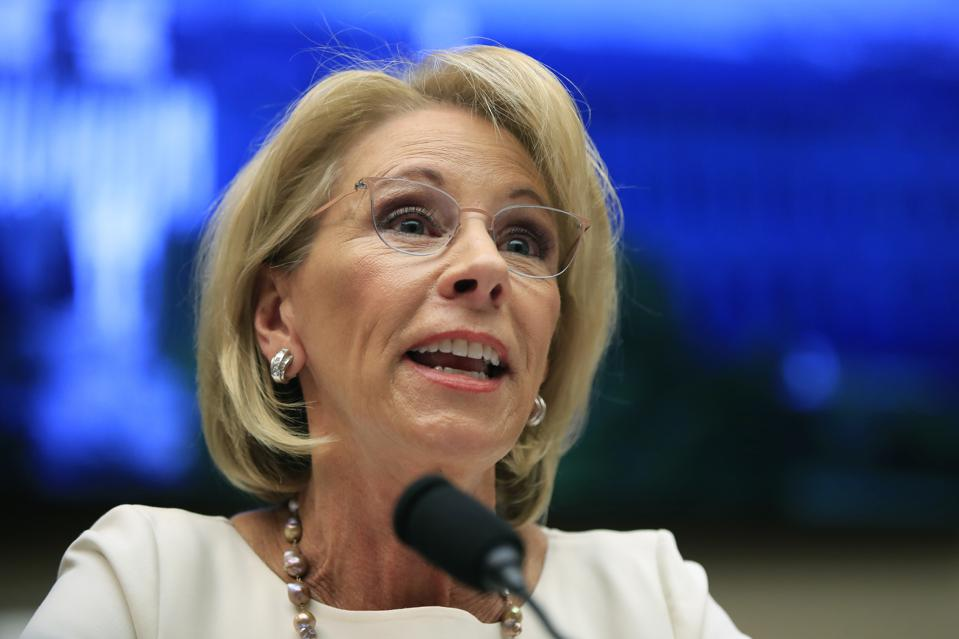 Judge Threatens Betsy DeVos With Jail In Student Loan Case