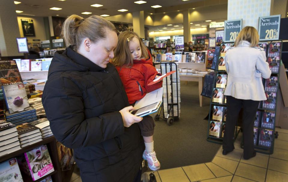 E-Book Revenues Continue To Slip