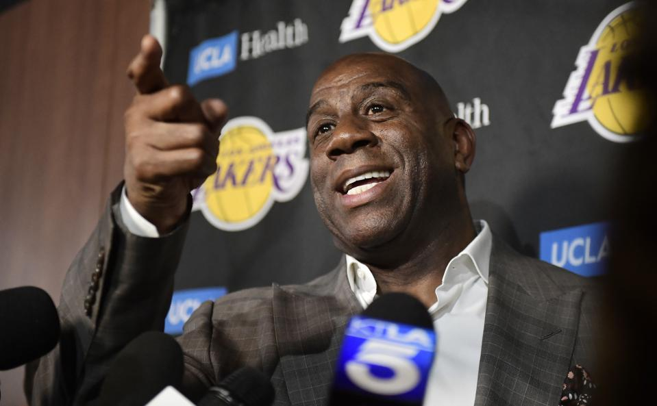 Magic Johnson Quitting Is Living Proof Of This Study That Faking Emotions At Work Can Cause Misery