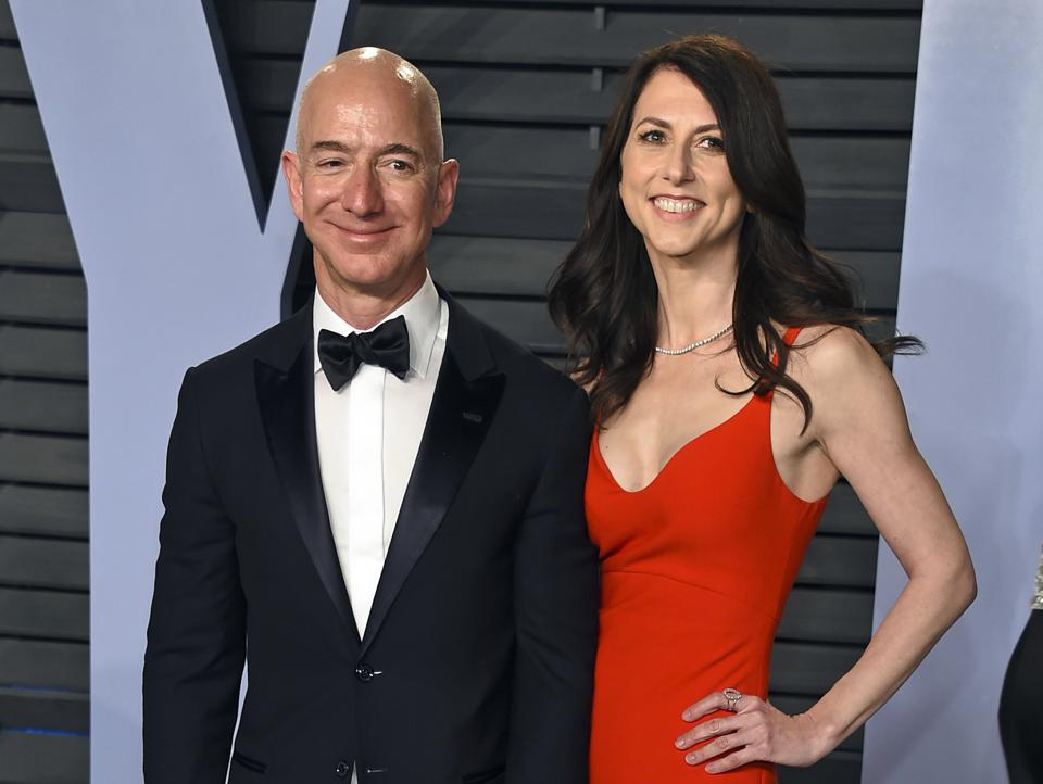 Jeff Bezos's Divorce Shows Separations Can Be Amicable