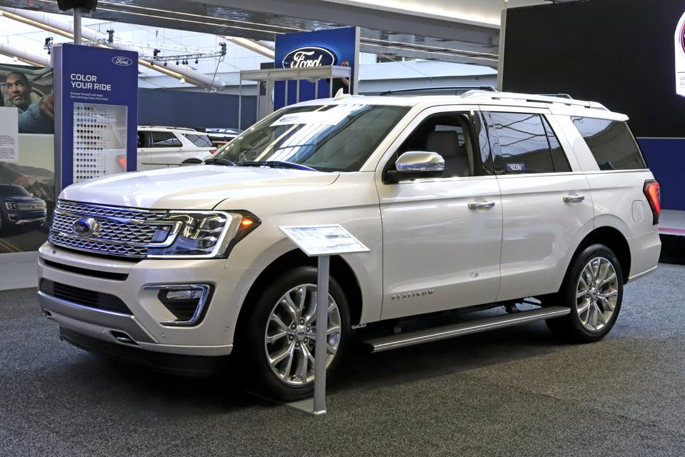 Ford Boosts Large SUV Output, Going All In On Bigger Is Better For Now