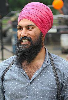MPP Jagmeet Singh at his annual community BBQ in 2014 (cropped).jpg