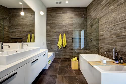 7 Bathrooms That Prove You Can Fit It All Into 100 Square Feet