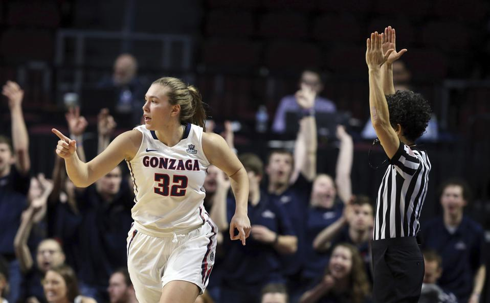 Gonzaga women's basketball Jill Townsend