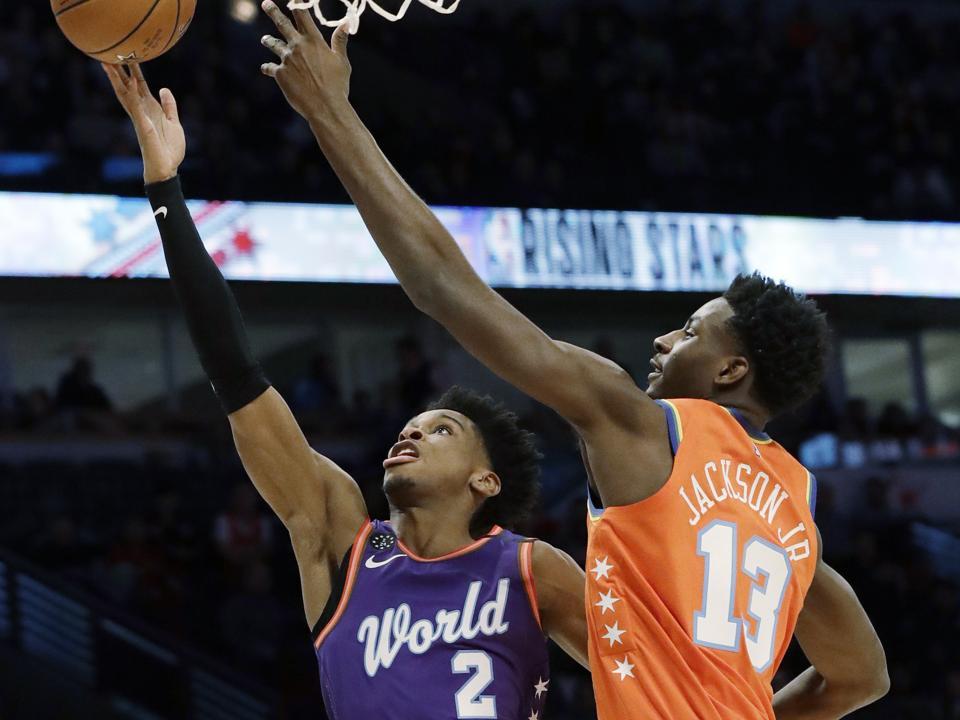 Shai Gilgeous-Alexander Of The Oklahoma City Thunder Shines At 2020 NBA All-Star Weekend