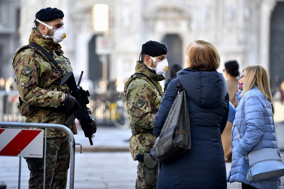APTOPIX Italy China Outbreak Europe