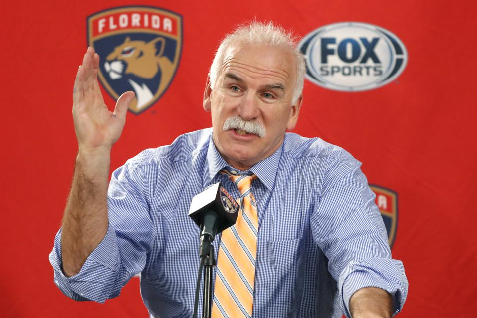 Panthers Blackhawks Quenneville Hockey