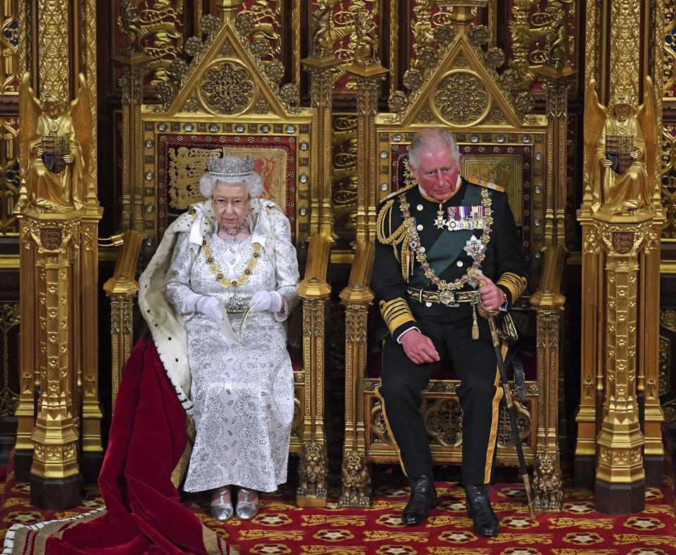 APTOPIX Britain Politics Queen's Speech