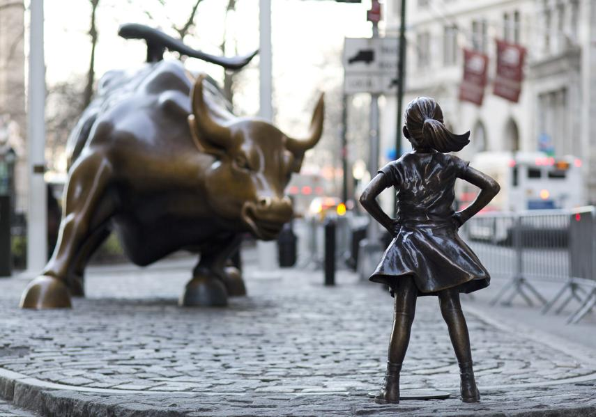 This Fearless Girl May Change The Face Of Wall Street For 1 More Year