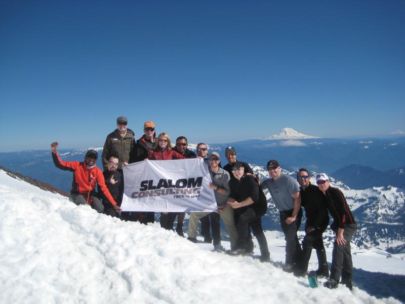 Slalom employees 3 day retreat