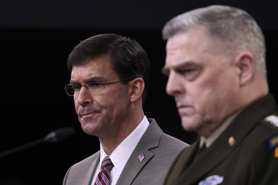 Pentagon leaders struggle with disease