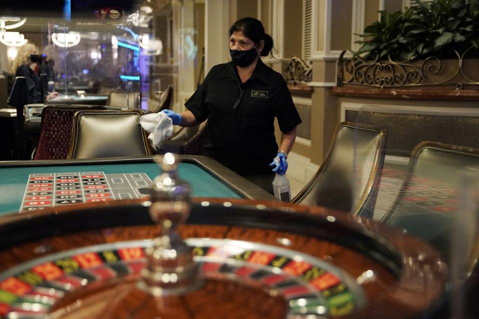 Virus Outbreak Vegas Casinos