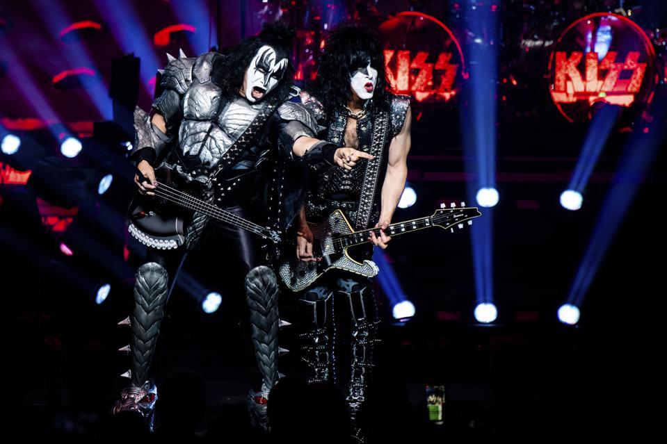 KISS in Concert - Cincinnati