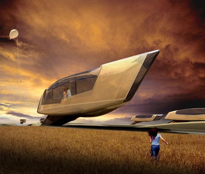 Futuristic Home Design Ideas: In Photos: Homes Of The Future