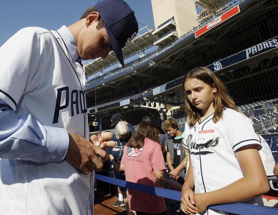 Tigers Padres Baseball