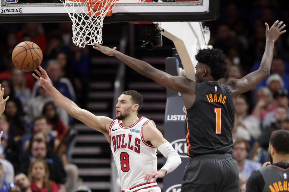 Bulls Magic Basketball